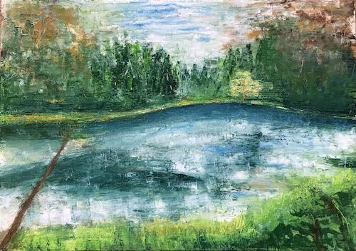 四ヶ村の池